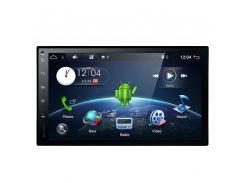 "2DIN автомагнитола 7"" Pioneer 5001A сенсорный экран память 1/16 Gb GPS навигация microSD на Android"