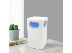 Электрический уничтожитель комаров Lesko LKS-2019 White с подсветкой ловушка для насекомых питание от USB
