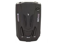 Антирадар Tilon V7 Black радар-детектор скорости спидометр цифровой дисплей 360 градусов
