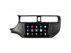 """Штатная автомобильная магнитола Kia Rio (2012-2013 г.в.) экран 9"""" память 1/16 Gb GPS IGO Android 8.1 Wi Fi"""