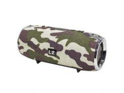 Колонка LZ Xtreme+ Camouflage влагозащищенная беспроводное подключение Bluetooth