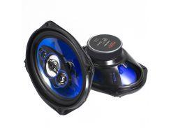 Автоакустика Puzu PZ-6922C/TP6971 360 Вт 6х9 дюймовый (15 х 23 см) аккустическая система стерео встраиваемая