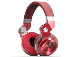 Bluetooth гарнитура Bluedio T2 Plus Red стереофоническая беспроводная поддержка карт microSD с микрофоном