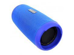 Портативная колонка Booms Bass L12 Blue Блютуз 5.0 мощность 10 Вт Батарея 1200 мАч
