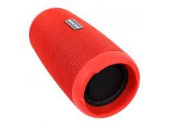 Портативная колонка Booms Bass L12 Red Блютуз 5.0 мощность 10 Вт Батарея 1200 мАч