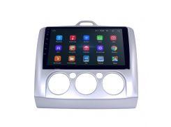 """Штатная автомобильная магнитола 9"""" Ford Focus 2 (2005-2011 г.) память 1/16 Гб USB-DVR GPS Wi Fi IGO Android"""