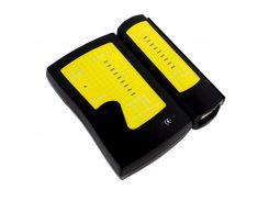 Кабельный тестер JS-468 RJ45 / USB