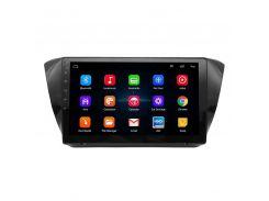 "Штатная автомобильная 10"" магнитола Lesko Skoda Superb 2016г. память 1/16 GB Can модуль GPS Android 8.1"