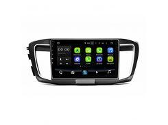 """Штатная магнитола 10"""" Lesko Honda Accord 9 Type 2014г. память 1/16 GB Can модуль GPS Android 8.1"""