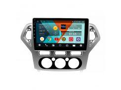 """Штатная автомобильная магнитола 10"""" Lesko Ford Mondeo 2007-2010гг. память 1/16 GB Can модуль GPS Android 8.1"""