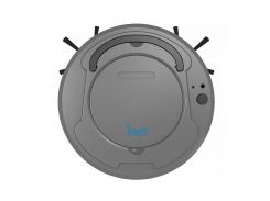 Робот-пылесос Bowai Smart OB8S Grey 1200 mAh на аккумуляторе с зарядкой от USB смарт для сухой уборки