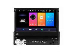 1DIN Магнитола Пионер 9601A с выдвижным экраном с GPS Wi Fi Android 8.1 Go