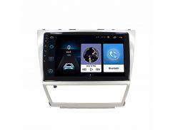 """Штатная автомобильная 10"""" магнитола Lesko Toyota Camry (2008-2011г.) 1/16 GPS IGO Android (Американка)"""