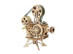Деревянный 3D конструктор Robotime LK601 Кинопроектор для детей и взрослых