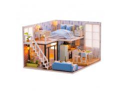 3D Румбокс кукольный дом DIY Cute Room L-023 Таунхаус детский конструктор