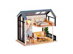 3D Румбокс кукольный дом DIY Cute Room QL-002-B Скандинавский Лофт детский конструктор