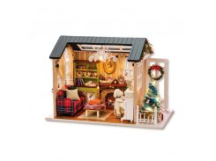 3D Румбокс кукольный дом DIY Cute Room 8009-D Сочельник детский конструктор