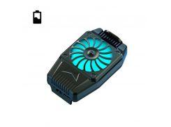Охлаждающий радиатор для смартфона Mobile Phone H15 Black с аккумулятором и подсветкой