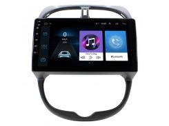 Штатная автомобильная магнитола Lesko для авто Peugeot 206 память 1/16 на Android GPS
