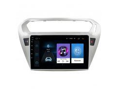 Штатная автомобильная магнитола Lesko для авто Peugeot 301 память 1/16 на Android GPS