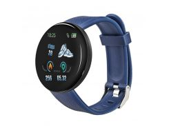 Смарт-часы Smart Watch D18 Blue Bluetooth Android IOS