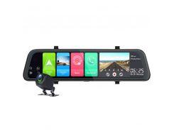 Зеркало видеорегистратор DVR Car Lesko D95 Bluetooth GPS навигатор угол обзора 170° на Android