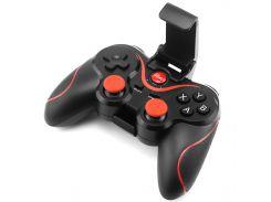 ➤Джойстик Data FrogT3 игровой геймпад для игр манипулятор Black + Red