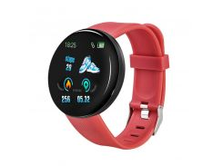 Смарт-часы Smart Watch D18 Red Bluetooth Android IOS