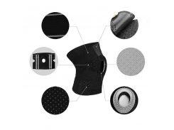 Наколенник бандаж для коленного сустава AOLIKES HX-7908 Black с пателярным кольцом