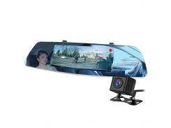 """Автомобильное зеркало видеорегистратор 7"""" Lesko Car L1003M FullHD камера заднего вида DVR в машину"""