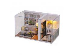 Кукольный дом конструктор DIY Cute Room QT-005-B Genki Life для девочек