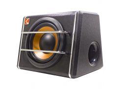 """Автомобильный сабвуфер 8"""" KUERL K-T8 на 600 Вт для автомобиля мощная мультимедийная акустика с громким басом"""