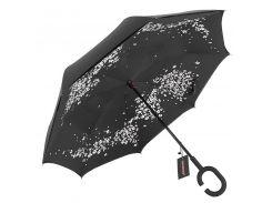 Зонт Up-Brella Сакура ручной зонт двойное складывание в обратном направлении антизонт обратное сложение