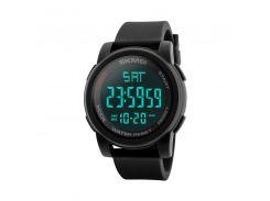 Часы мужские SKMEI 1257 Black наручные стильный аксессуар
