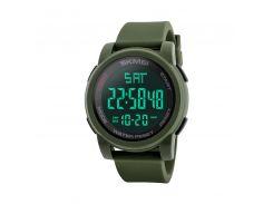 Часы мужские SKMEI 1257 Green наручные стильный аксессуар