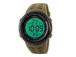 Часы мужские SKMEI 1167 Khaki наручные стильный аксессуар