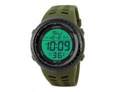 Часы мужские SKMEI 1167 Green наручные стильный аксессуар