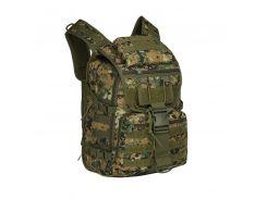 Рюкзак-сумка тактический AOKALI Outdoor A18 Camouflage Green спортивный военный армейский