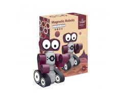 Магнитный конструктор Smart Builders 6970-35 Робот Глазастик для развития моторики Рандомные цвета