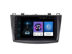 """Штатная магнитола Lesko для авто Mazda 3 (2009-2013) 9"""" 1/16GB Wi-Fi Optima GPS навигация Андроид мазда"""