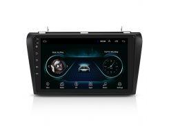 "Штатная автомагнитола Lesko для Mazda 3 (2004-2012 г.) 9"" 1/16GB Wi-Fi Optima GPS Android Can модуль Мазда"