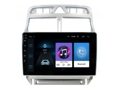 "Штатная магнитола Lesko для авто Peugeot 307 (2007-2013г.) 9"" 1/16GB Wi-Fi Optima GPS Android Can модуль пежо"