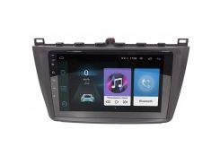 "Штатная магнитола Lesko для марки Mazda 6 (2015-2019гг.) 9"" 1/16GB Wi-Fi Optima Android GPS Мазда"