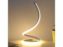 Настольный светильник Lesko YL008 White лампа ночник с сенсорным выключателем проводная