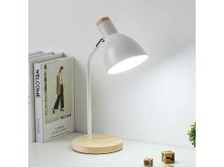 Настольная лампа Lesko 1226 White ночник для комнаты офиса школьника