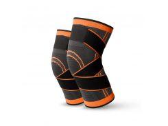 Компрессионный наколенник AOLIKES HX-7720 Orange S эластичный бандаж для коленного сустава
