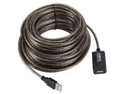 Активный удлинитель Lesko USB 20м высокоскоростной соединение кабелей
