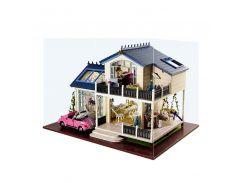 """3D Румбокс кукольный дом DIY Cute Room 1032 Вилла """"Прованс"""" детский конструктор"""