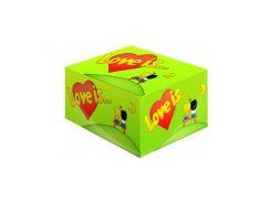 Жвачка Love is Яблоко и лимон 100 шт.