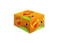 Жвачка Love is Ананас и апельсин 100 шт.